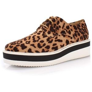 Shoes - Comfortable Penny Loafers Wedge Sneaker Almond Toe